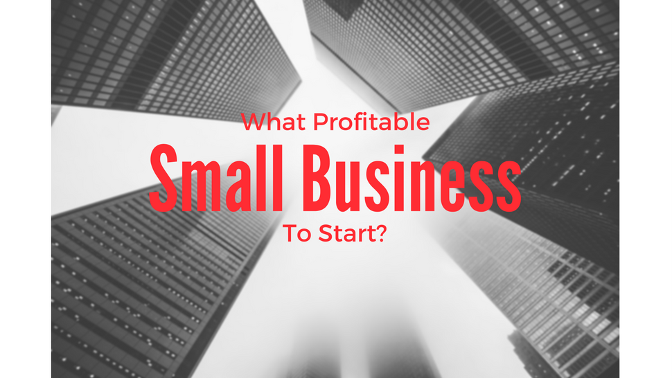 What Profitable Small Business To Start?
